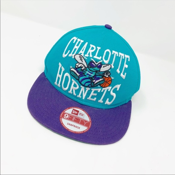 wholesale popular brand the latest New Era Accessories | Charlotte Hornets Nba Snapback Hat | Poshmark